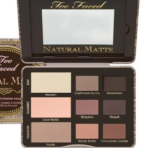 Too faced natural eyes matte shadow palette